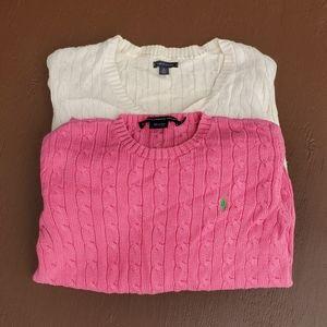 Ralph Lauren / Tommy Hilfiger sweaters